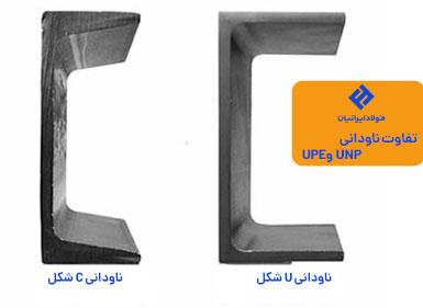 ناودانی UPN و ناودانی UPE